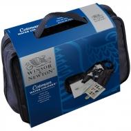 """Акварель Winsor&Newton """"Cotman Travel Bag"""" в сумке, 14 мал. кюв. + аксессуары"""