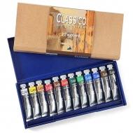 Набор художественных масляных красок в тубах Classico Maimeri, 12 цветов по 20 мл