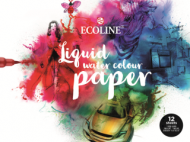 Альбом для акварели Royal Talens Ecoline 300гр/м.кв 24х32см 12л