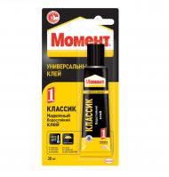 """Универсальный клей """"Момент-1"""" Henkel, 30 мл, блистер"""