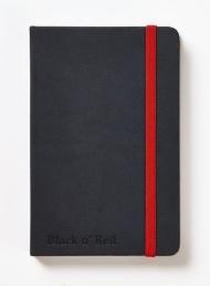 Блокнот Oxford Black n Red Business Journal Hard cover A6 72л фиксирующаяся резинка карман твердая о