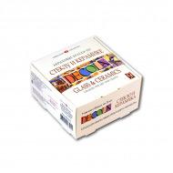 Акриловые краски по стеклу и керамике Decola НЕВСКАЯ ПАЛИТРА, набор 9 цветов по 20 мл