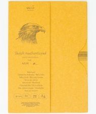 Альбом SM-LT Art Authentic Kraft 90г/м2 A4 60 листов в папке склейка по длинной стороне