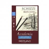 Альбом-склейка Accademia Sketching FABRIANO мелкозернистая бумага 120г/м2, 50л