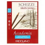 Альбом для рисования Fabriano Accademia 120г/м.кв 29,7x42см мелкозернистая 50л склейка по короткой стороне