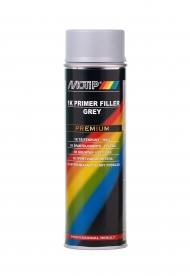 Грунт-наполнитель MOTiP Primer Filler PREMIUM для металла, дерева, пластика, цвет серый, аэрозоль 650 мл
