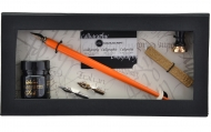 Набор для каллиграфии Manuscript Pen & Mini Seal (держатель, перья, чернила, аксессуары) в картонной упаковке