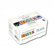Акриловые краски по ткани Decola НЕВСКАЯ ПАЛИТРА, набор 6 цветов по 20 мл
