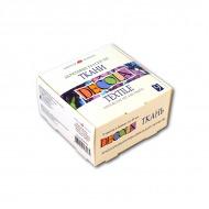 Акриловые краски по ткани Decola Невская Палитра, набор 9 цветов по 20 мл