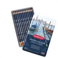 Набор акварельных карандашей Watercolour 12цв в метал.упак