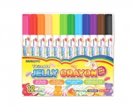 Набор пастельных мелков Mungyo JELLY, пастель с эффектом акварели, 12 цветов