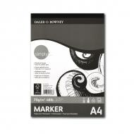 Альбом для рисования маркерами и карандашами «Simply» Daler Rowney 40 листов, А4, 70 г/м2
