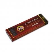 """Сепия светло-коричневая KOH-I-NOOR """"Gioconda"""", диаметр 5,6 мм, набор 6 шт."""