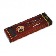 "Сепия темно-коричневая KOH-I-NOOR ""Gioconda"", диаметр 5,6 мм, набор 6 шт."