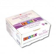 Акриловые краски по шелку и хлопку «Батик» Decola НЕВСКАЯ ПАЛИТРА, набор 6 цветов*50 мл, 2 резерва