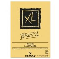 Альбом для графики Canson Xl Bristol 180г/кв.м 29.7*42см 50листов Гладкая склейка по короткой стороне