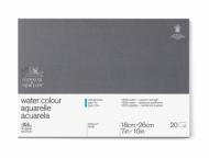 Блок для акварели Winsor&Newton Professional 300г, хлопок, 18*26см 20л Фин