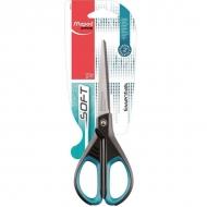Канцелярские ножницы Maped Essentials soft с прорезиненными ручками, 17 см