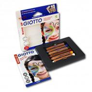 Набор карандашей для грима GIOTTO Make up Classic FILA классические цвета, 6 шт.