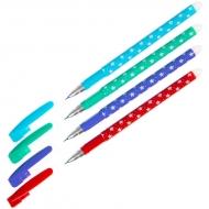 Ручка гелевая стираемая ArtSpace, синяя, 0,5мм, толщина линии 0,4мм, корпус ассорти