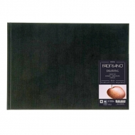 Блокнот для зарисовок Fabriano Drawingbook 160г/м.кв 21x29,7см мелкозернистая 60л (ландшафт), сшивка по короткой стороне