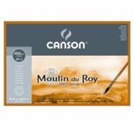 Блок для акварели Canson Moulin du Roy 300г/кв.м (хлопок) 30.5*45.5см 20листов Торшон