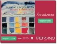 Альбом для рисования Fabriano Accademia 240г/м.кв 35x27см мелкозернистая 100л склейка по короткой стороне
