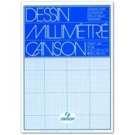 Бумага миллиметровая Canson 90г/кв.м 21*29.7см Синяя