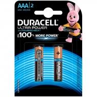 Батарейка Duracell UltraPower AAA (LR03) алкалиновая, 2BL (2шт. упаковка)