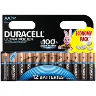 Батарейка Duracell UltraPower AA (LR06) алкалиновая, 12BL (12шт. упаковка)