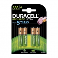 Аккумулятор Duracell AAA (HR03) 900mAh 4BL (4шт. упаковка)