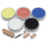 Набор ультрамягкой пастели Starter Painting PanPastel, 5 цветов и аксессуары
