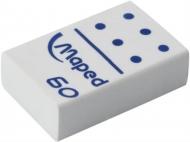 Ластик Domino Maped, малый, прямоугольный