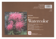 Блок для акварели Strathmore 400 Series Watercolor 300г/кв.м, 17,8х25,4см, 15л