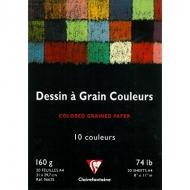 Набор художественной бумаги Еtival Сolor CLAIREFONTAINE, А4, 160г/м2, 20 л, 10 цветов