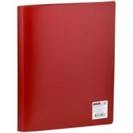Папка с 30 вкладышами OfficeSpace, 20мм, 400мкм, красная