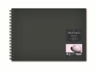 Блокнот для зарисовок Fabriano Sketch Book 110г/м.кв 14,8x21см мелкозернистая 80л (ландшафт) спираль по короткой стороне