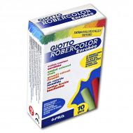 Мел цветной GIOTTO Robercolor Enrobee FILA для школьной, грифельной и тп. досок, набор 10 шт.