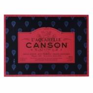 Блок для акварели Canson Heritage 300г/кв.м (хлопок) 26*36см 20листов Сатин склейка по 4 сторонам