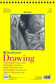 Альбом для графики Strathmore 300 Series Drawing 114г/кв.м, 21х29,7см, 50л