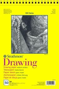 Альбом для графики Strathmore 300 Series Drawing 114г/кв.м, 21х29,7см, 50л