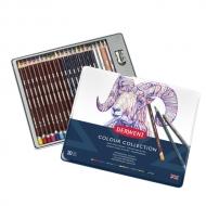 Набор цветных карандашей Derwent Colour Collection 24 цвета в металлическом пенале