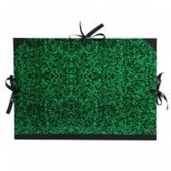 Папка Canson Carton a Dessin Classic Canson на 3 шнурках размер 28*38см Цвет зеленый