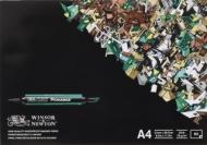 Альбом для маркеров Winsor&Newton 75г/кв.м A4 50листов