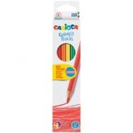 Карандаши Carioca 6 цветов, заточенные, картонная упаковка