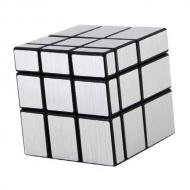 Зеркальный Кубик 3x3x3 непропорциональный (серебряный)