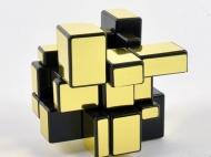 Зеркальный Кубик 3x3x3 непропорциональный (золотой)