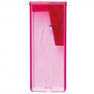 Точилка пластиковая Faber-Castell, 1 отверстие, контейнер, флуоресцентные цвета