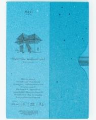 Альбом для акварели SM-LT Art Authentic Watercolor 280г/м2 (целлюлоза) A4 35л склейка по одной стороне в папке