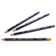 Набор акварельных чернильных карандашей Derwent Inktense 12 цв., метал.пенал